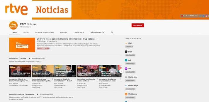 RTVE lanza su propio canal de noticias