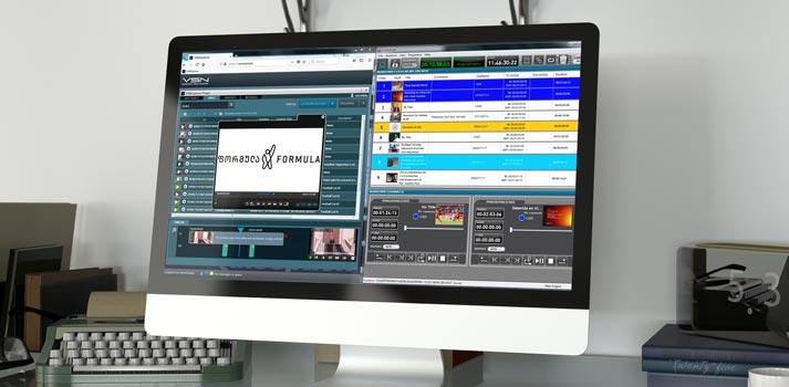 Nuevo canal Formula TV construido en torno al sistema VSN