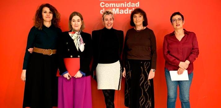 """Mujeres relacionadas con el ámbito del cine que han participado en el encuentro """"Mujer y audiovisual"""""""