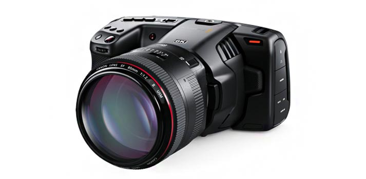 Pocket Camera 6K de Blackmagic Design