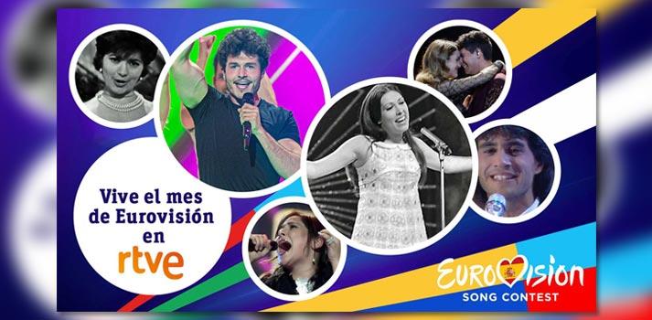Programación especial de RTVE con motivo de Eurovisión