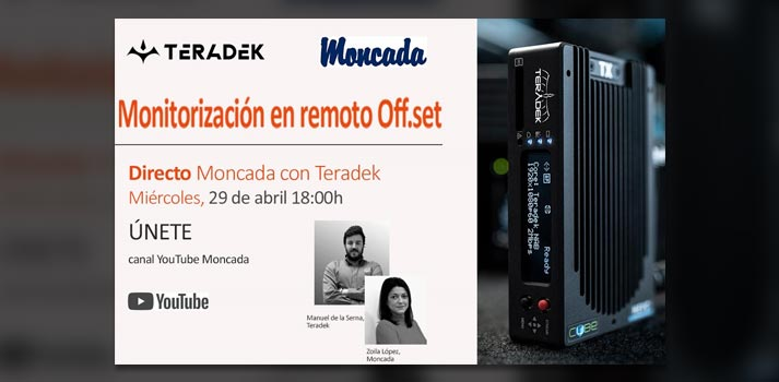 Evento de Moncada y Lorenzo + Teradek