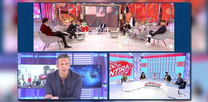 Algunos de los formatos televisivos de Mediaset España