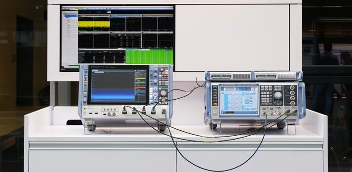 Instrumentos de medida 5G de Rohde & Schwarz