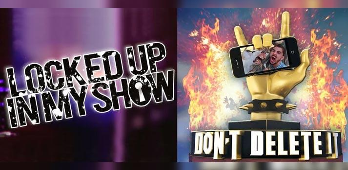 """Formatos televisivos """"Locked up in my show"""" y """"Don't delete it"""" producidos por Mandarina (Mediaset)"""