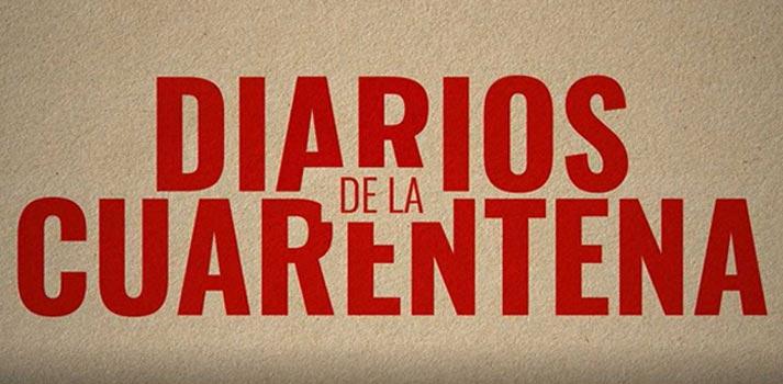 Logo Diarios de la Cuarentena, nueva ficción de RTVE