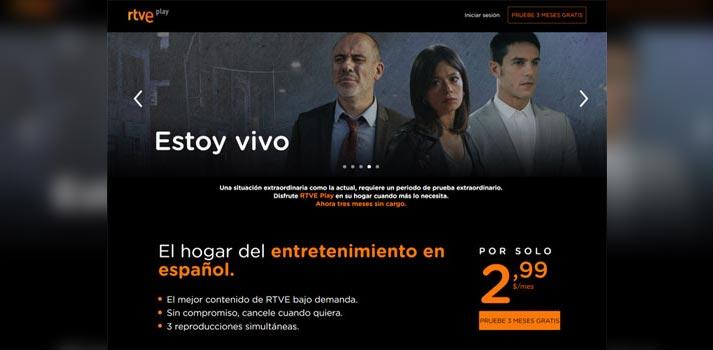Plataforma RTVE Play de Mediapro