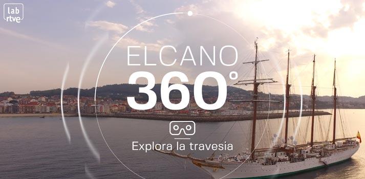 Espacio interactivo VR ElCano360 de Visyon y RTVE