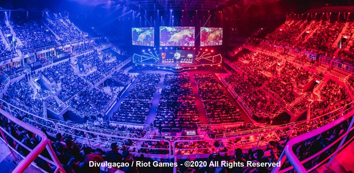 Evento en directo de Riot Games de esports League of Legends