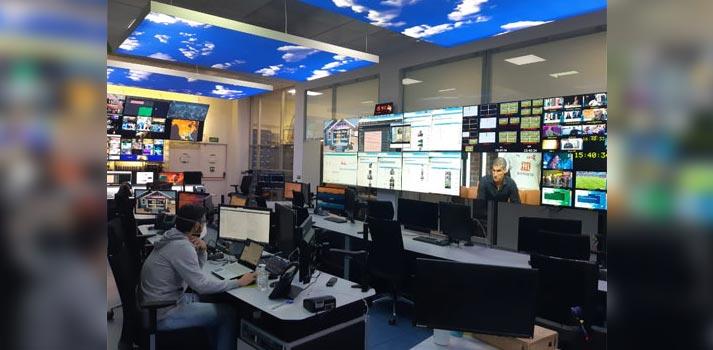 Unidad de retransmisión de Overon (Grupo Mediapro)