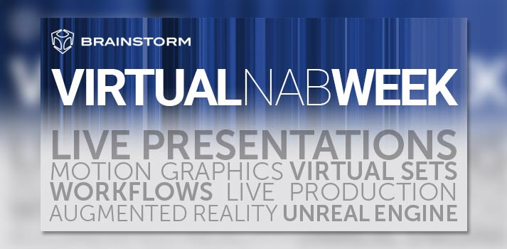 Virtual NAB, evento online de Brainstorm