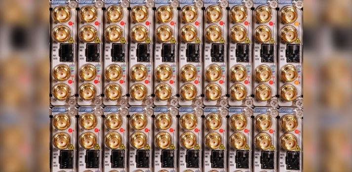 Dispositivos EOP2000 de Albalá Ingenieros instalados en Telemadrid