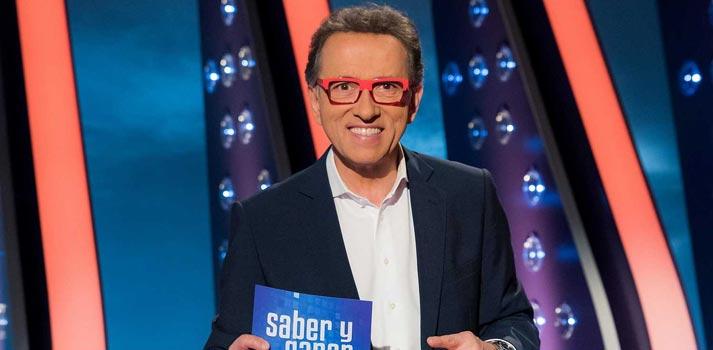Posado de Jordi Hurtado, presentador de Saber y Ganar