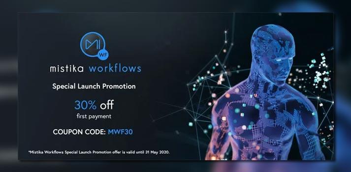 Imagen promocional de Mistika Workflows, una solución de SGO