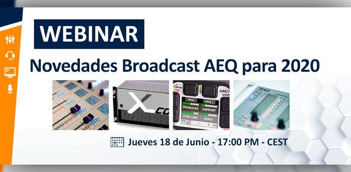 Anuncio evento seminario web de AEQ