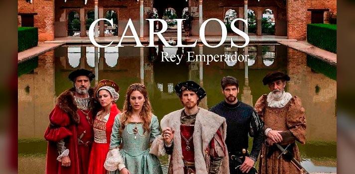 Imagen promocional de la ficción Carlos Rey Emperador de RTVE