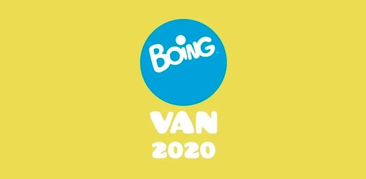 Imagen corporativa del canal Boing (Mediaset España) para 2020