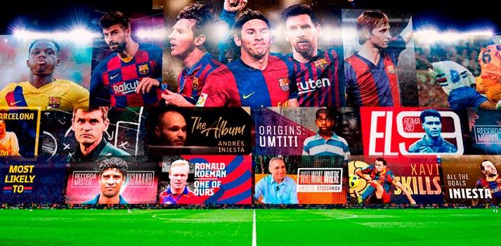 Plataforma Barça TV + imagen promocional