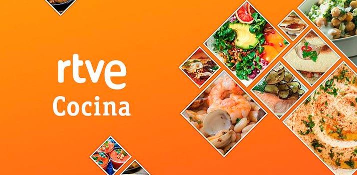 Plataforma de cocina RTVE Cocina presentada por RTVE Digital