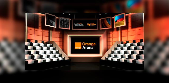 Plató virtual Orange Arena, el cual será usado para competiciones de la LVP