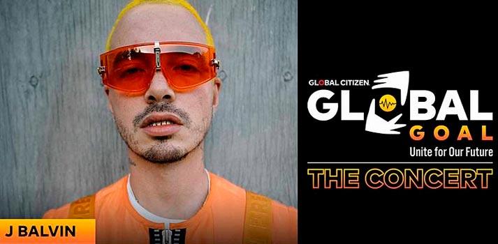 J Balvkin formará parte del evento Global Goal, emitido en España a través de Playz