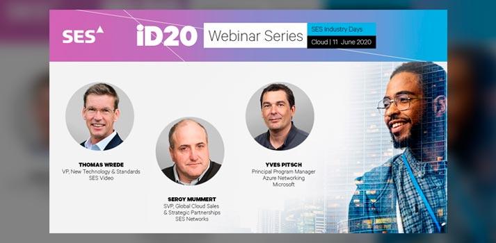 Imagen promocional de uno de os seminarios web de iD20 de SES
