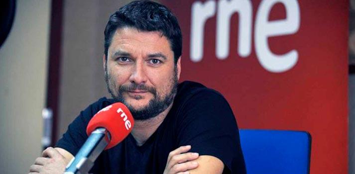 Retrato de Ignacio Miramón, Director de Centros Territoriales de RTVE