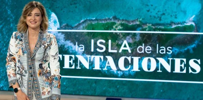 Sandra Barneda, presentadora de La Isla de las Tentaciones