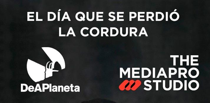 Logo de DeAPlaneta y The Mediapro Studio