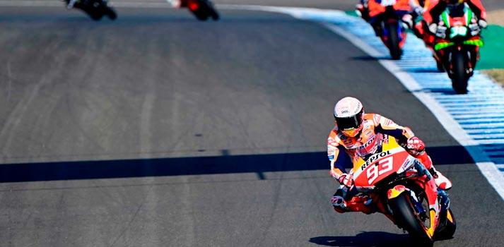 Mundial de MotoGP, frame carrera