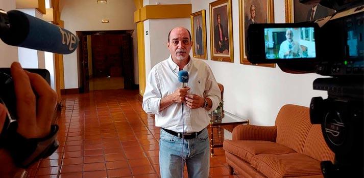 Conexión en directo desde el Convento de San Gil de Toledo (RTVE)