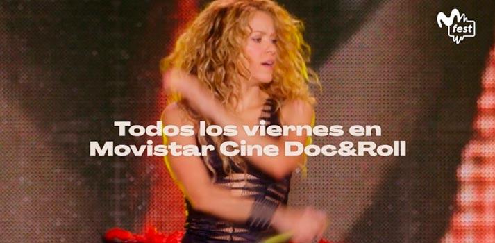 Movistar CineDoncandRoll tmando el relevo de contenidos de Movistar Fest