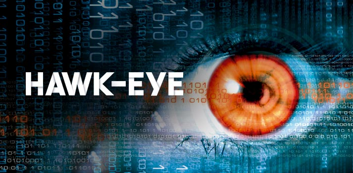 Imagen conceptual reportaje Hawk-Eye TM Broadcast