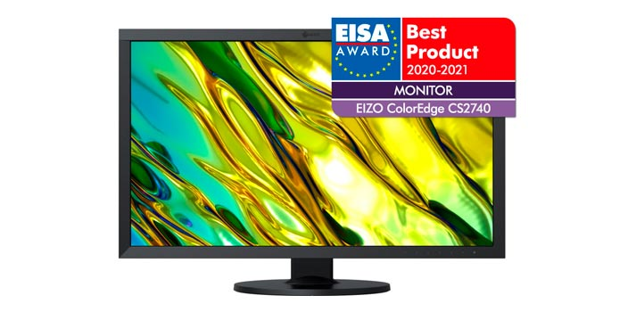 Monitor Eizo ColorEdge CS2740 galardonado - Vista frontal