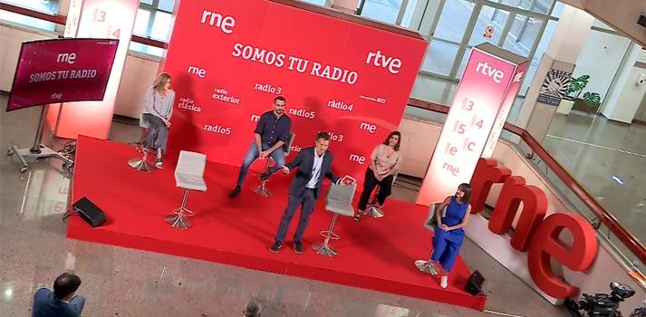 Presentación de la nueva temporada de RNE y RTVE