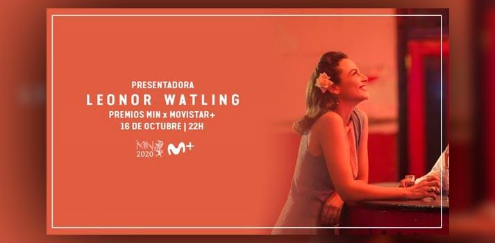 Una de las primeras imágenes promocionales de los Premios MIN a través de Movistar+