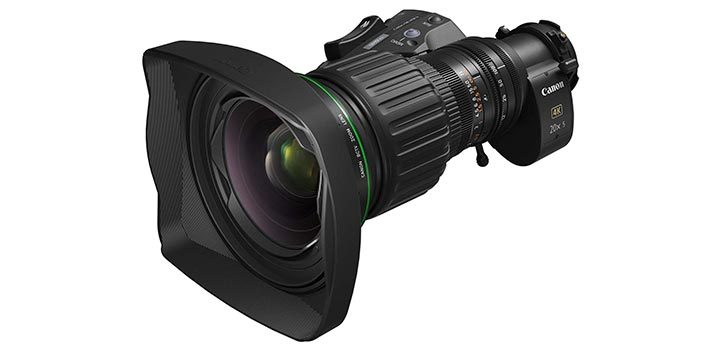 Nuevo objetivo Zoom 4K CK20ex5B de Canon