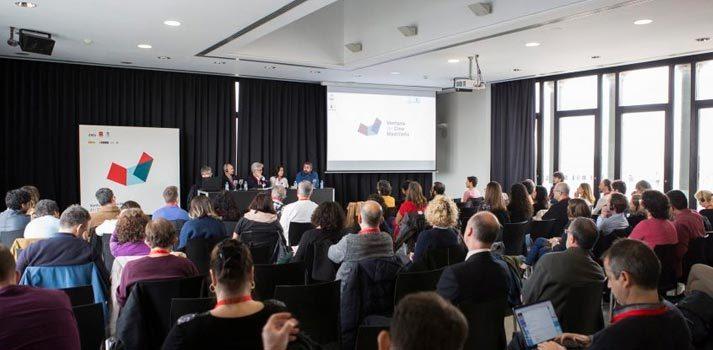 Acto celebrado en octubre de 2019 en el marco de la ventana CineMad impulsada por Madrid Film Office y otras organizaciones