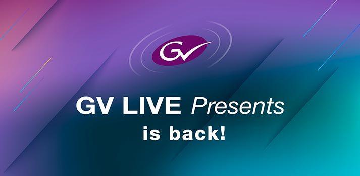 Imagen promocional de GV Live Presents 2020