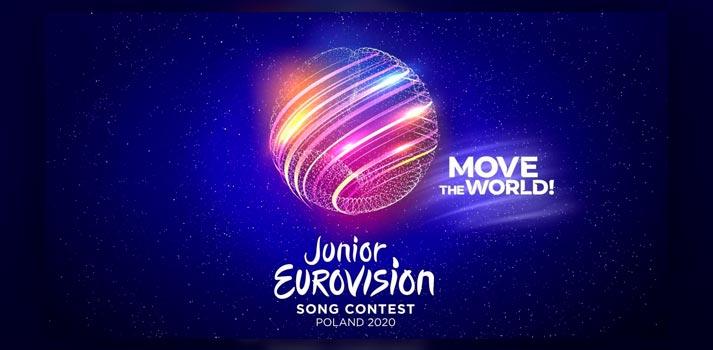 Imagen promocional y eslogan de Eurovision Junior 2020