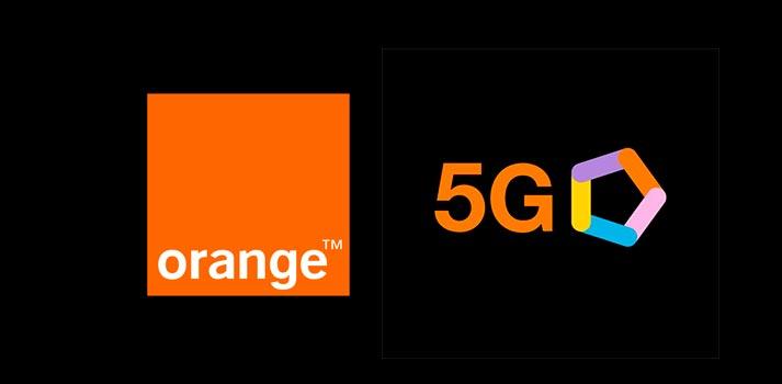 Logo escogido por Orange para promocionar sus servicios 5G