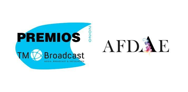 Patrocinio AFDAE a los Premios TM Broadcast