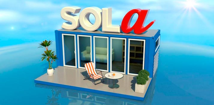 Logo de Sola, nuevo reality de Mitele Plus