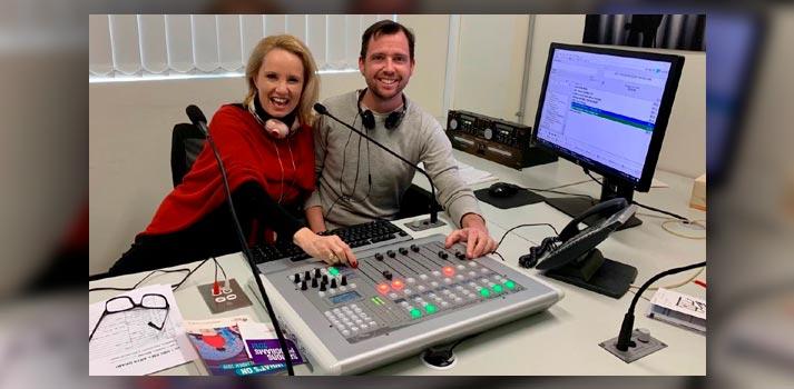 Uno de los estudios de la radio australiana 2NBC, recientemente actualizada con soluciones IP de AEQ