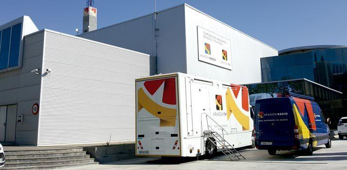 Sede de Aragón TV (exterior)