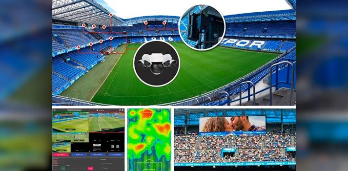 Implementación 5G en estadio europeo Riazor por Telefónica, Cinfo y Ericsson