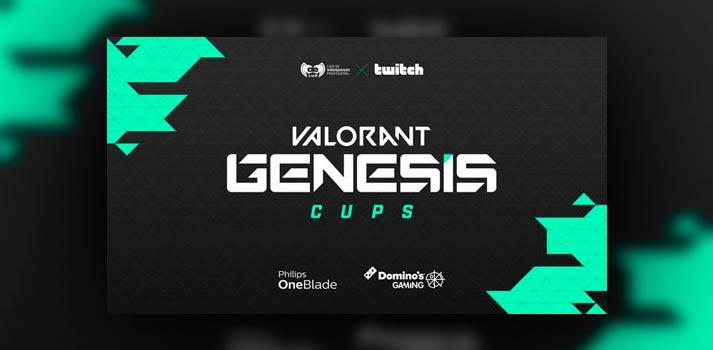Anuncio de la Valorant Genesis Cup impulsada por LVP y Twitch
