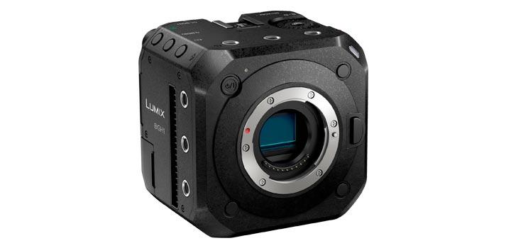 Cuerpo de la nueva cámara Lumix BGH1 de Panasonic