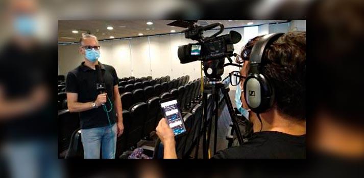 Evento de Versión Radio cubierto con cámaras JVC