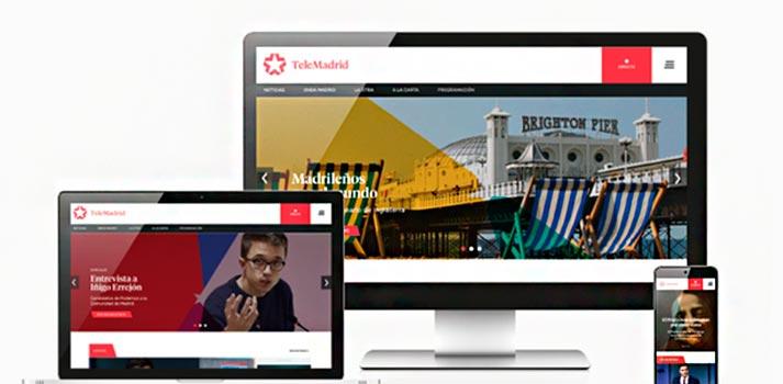 Portal Telemadrid es en diferentes dispositivos